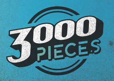 3000 Pieces logo